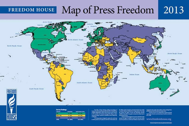 Map of Press Freedom