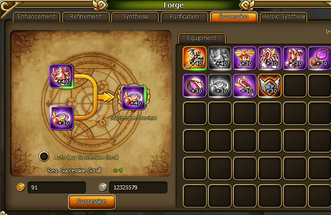 Lunaria Story Equipment Succession