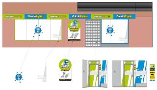 Diseño fachada ColadaRápida