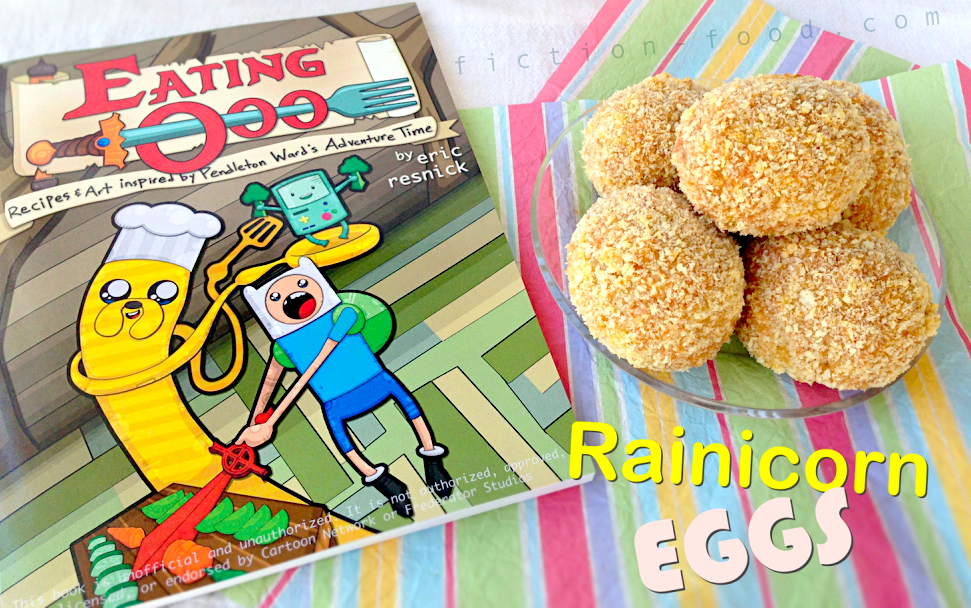 Fiction food caf rainicorn eggs from the eating ooo cookbook eating ooo recipes art inspired by pendleton wards adventure time by eric m resnick is a love letter to the awesomeness that is adventure time forumfinder Image collections