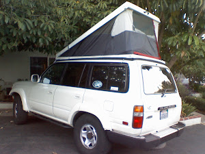 Land cruiser roof tent