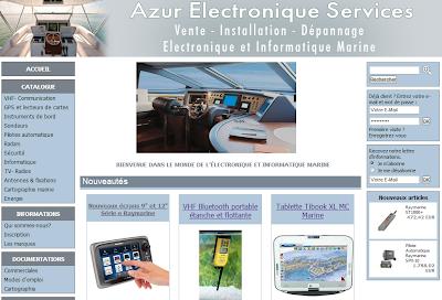 Boutique a e s azur electronique services marine
