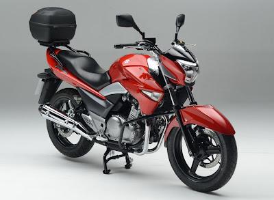 Suzuki Inazuma 250 Street Accessory Pack (2013) Front Side