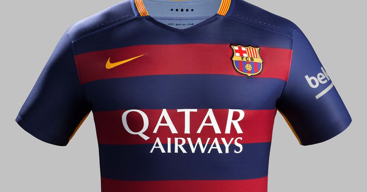 Barcelona to sign record breaking qatar airways shirt for Oficina qatar airways madrid