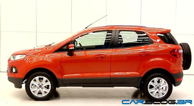 Novo Ford EcoSport 2013 - lateral