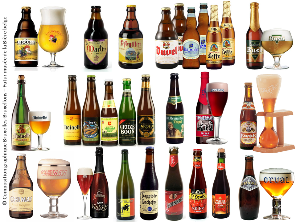 PALAIS DE LA BOURSE -  Futur temple de la Bière Belge (2018) - La Bourse mise en bière, une affaire qui mousse - Bruxelles-Bruxellons