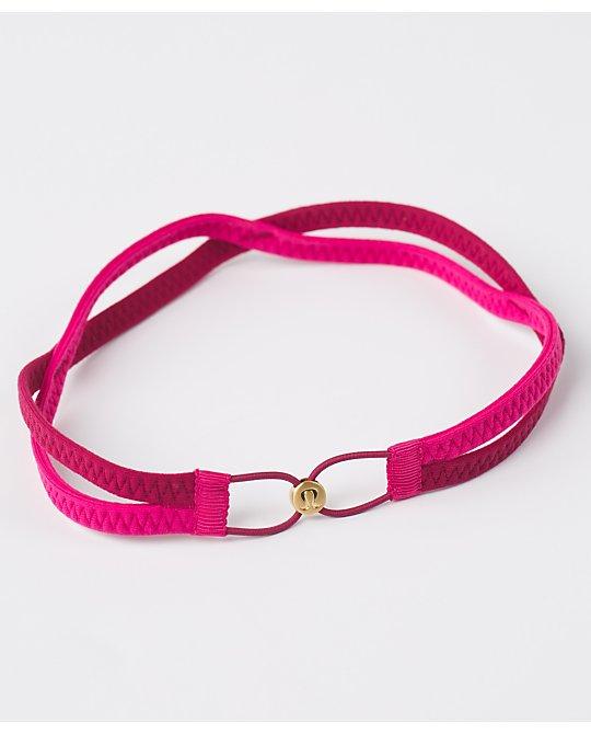lululemon criss-cross-headband berry-rumble