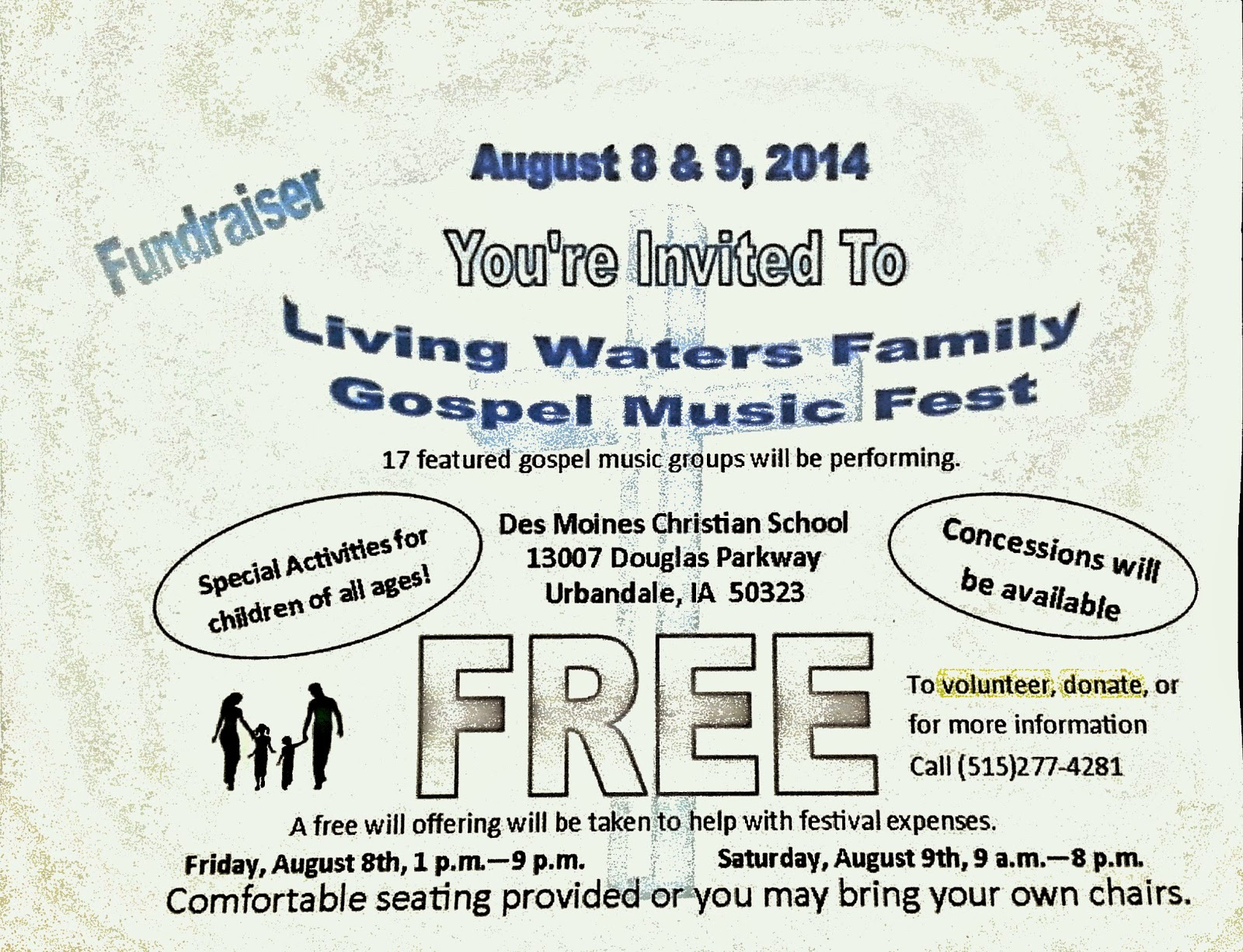 Living Waters Family Gospel Music Fest