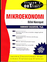 toko buku rahma: buku SCHAUM MIKROEKONOMI, pengarang dominick salvatore, penerbit erlangga