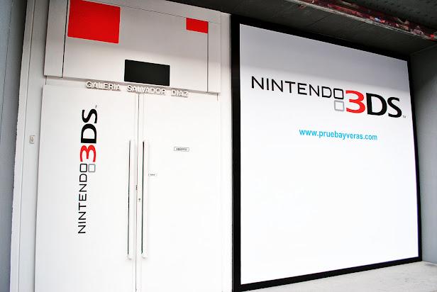 Nintendo 3DS evento en Madrid 2011