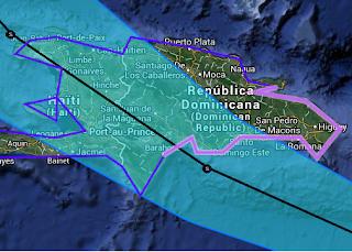 Tropischer Sturm CHANTAL: Antillen, Dominikanische Republik, Haiti, Kuba, Bahamas, Florida, East Coast, 2013, aktuell, Atlantische Hurrikansaison 2013, Chantal, Dominikanische Republik, Florida, Juli, Karibik, Satellitenbild Satellitenbilder, Vorhersage Forecast Prognose