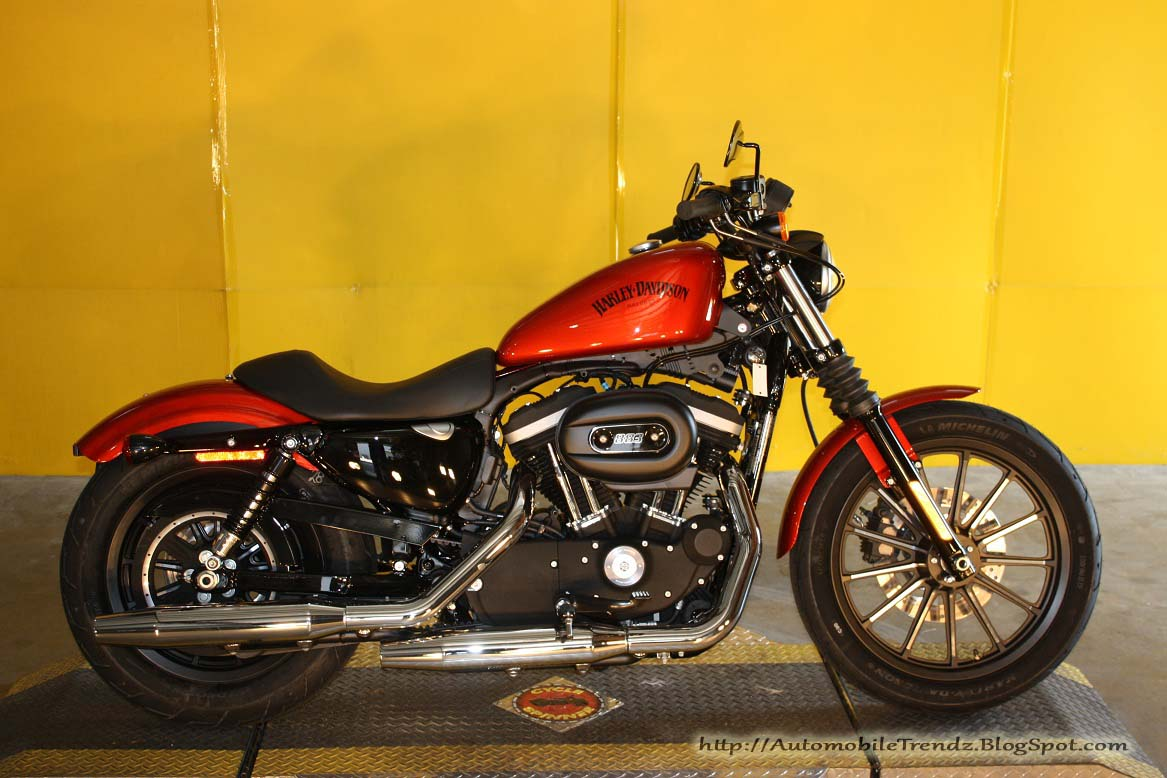 Automobile Trendz  Harley Davidson 2013 Iron 883   4 Wallpapers