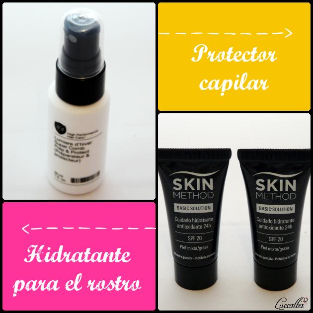 Protector capilar e hidratante para el rostro