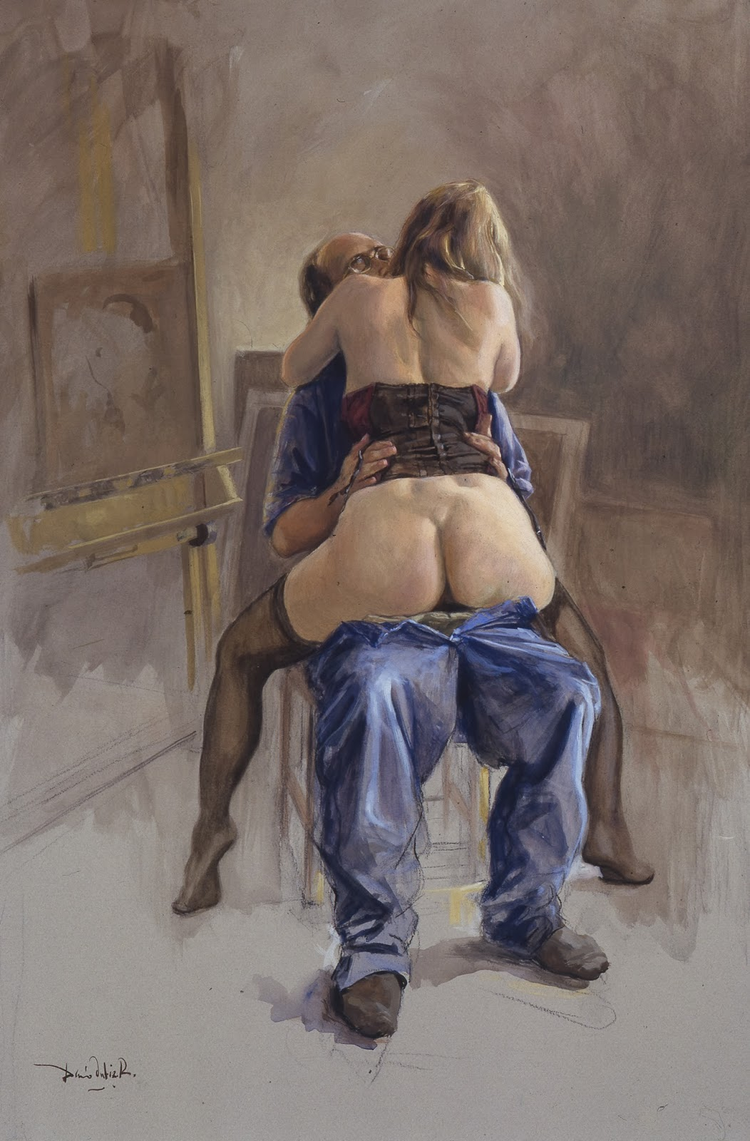 Painting of porn nackt movies