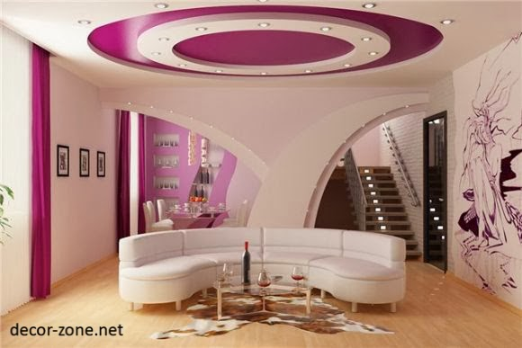false ceiling designs for living room : photos, structure, lighting ...