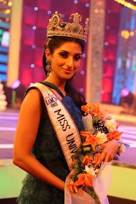 New Miss Universe India Vasuki Sunkavalli