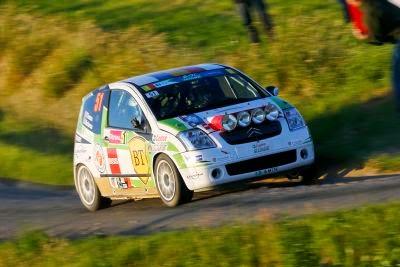 Florin Tincescu si Iulian Nicolaescu - Citroen C2 R2 Max - JUNIOR ERC