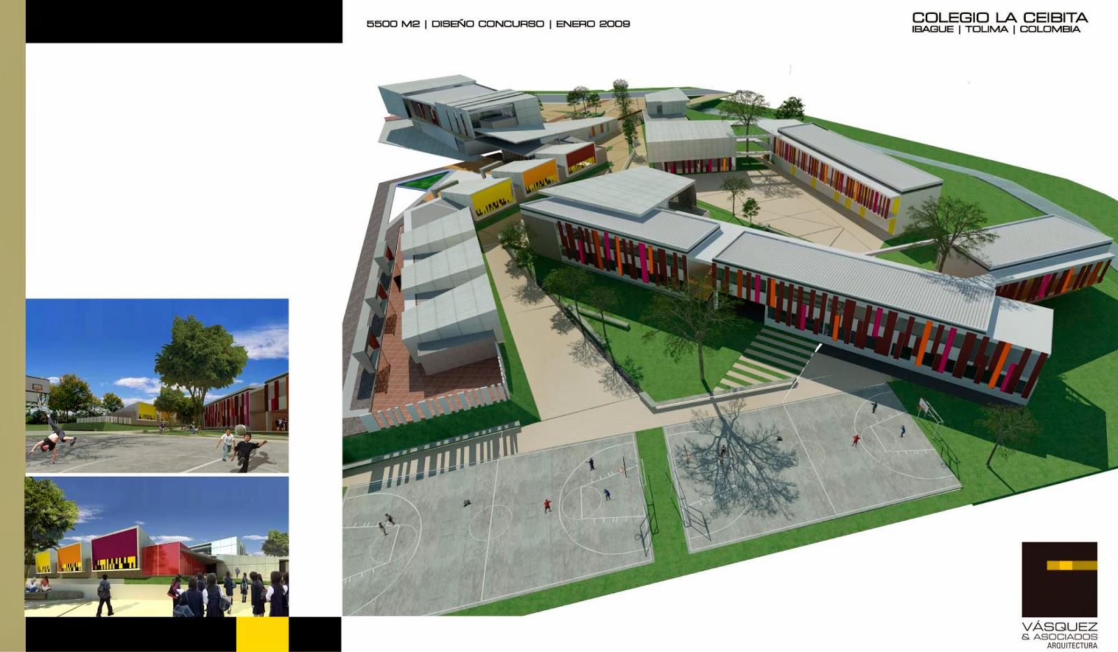Vasquez y asociados arquitectura ltda colegio la ceibita for Genesis arquitectura y diseno ltda