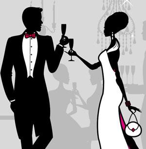 The wine guy black tie