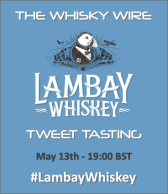 Lambay Whiskey Tweet Tasting