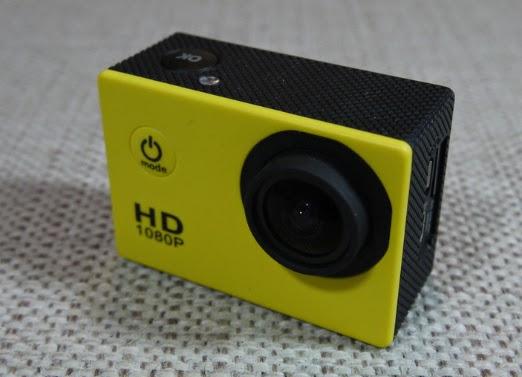 SJ400 Full HD, Câmera para esportes