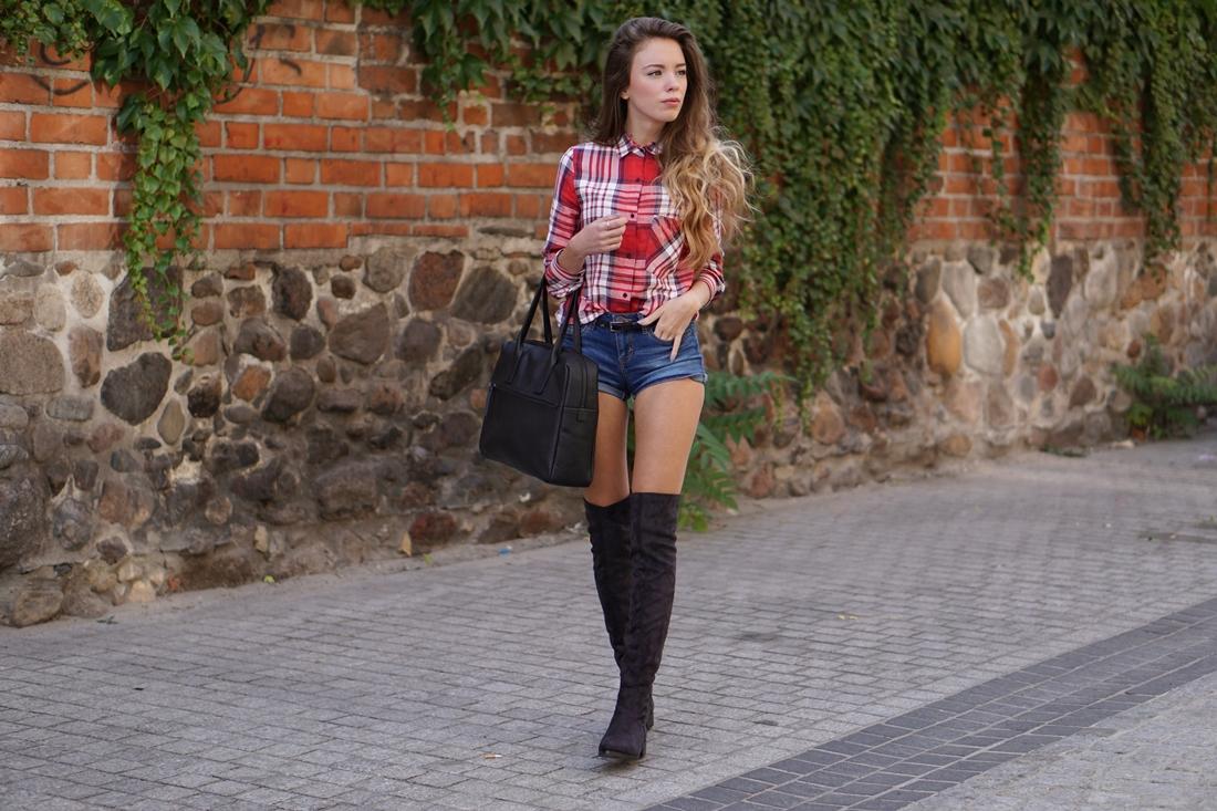 Country girl, czyli jeans i krata!