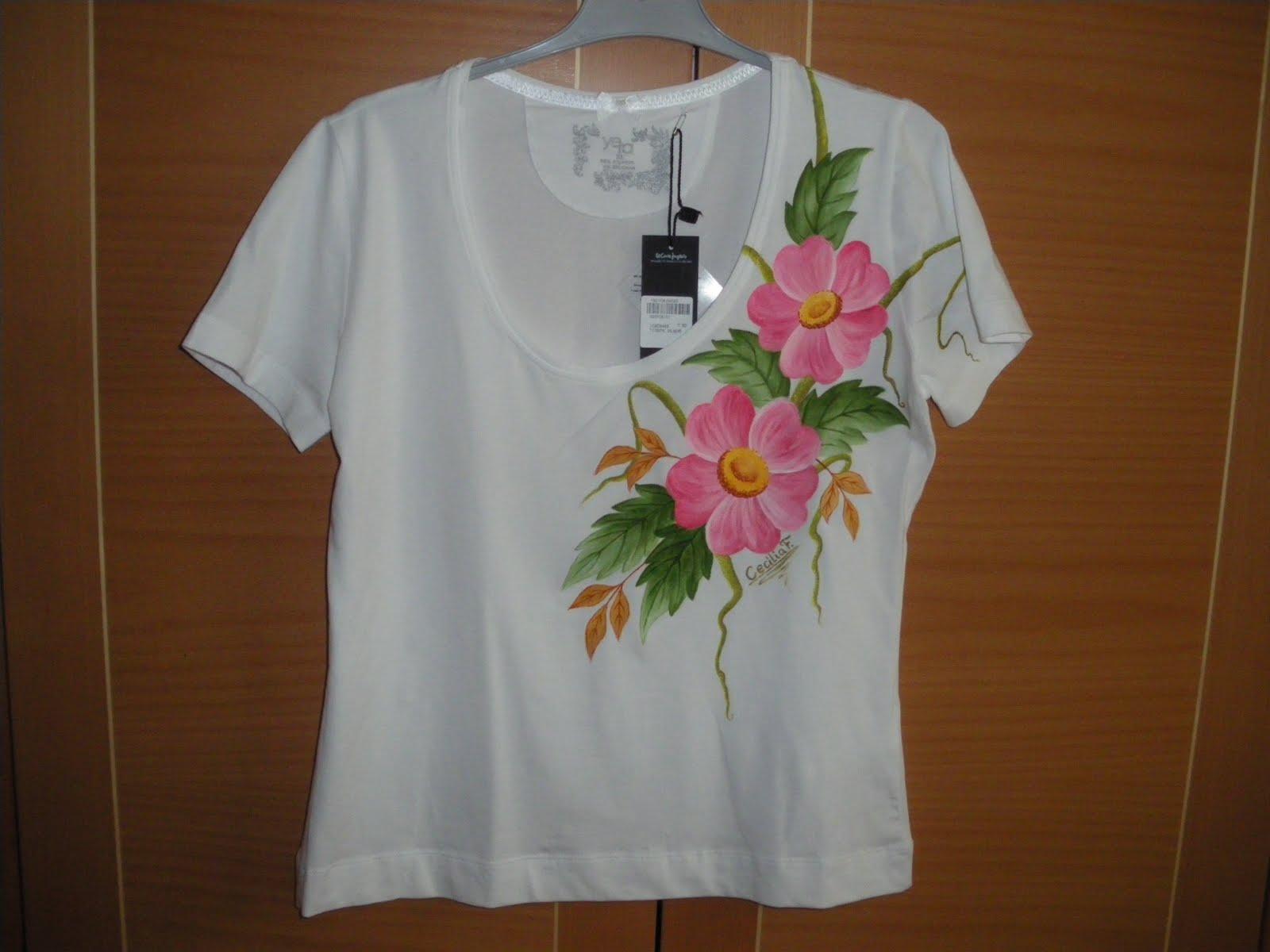 Artesania pintura en tela y manualidades abril 2011 - Plantillas para pintar camisetas a mano ...