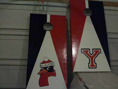 Youngstown State Corn Hole Game Set