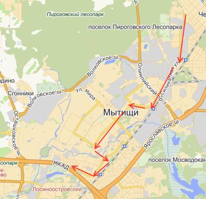 новый маршрут - № 27 м/р