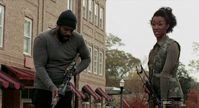Tyrese The Walking Dead S03E14 Prey