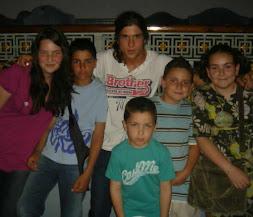 Dani dUtrera, Rosa, ismael, Juan Manuel, Manu y Blanca Águeda
