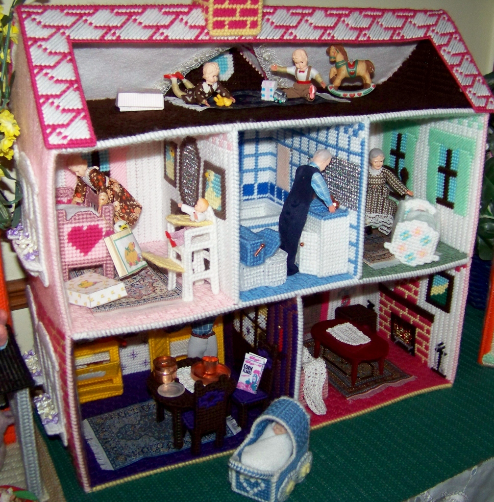 Plastic Canvas Patterns Doll House Furniture Car Interior Design
