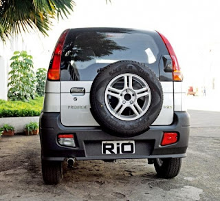 back side view Premier Rio Diesel LX