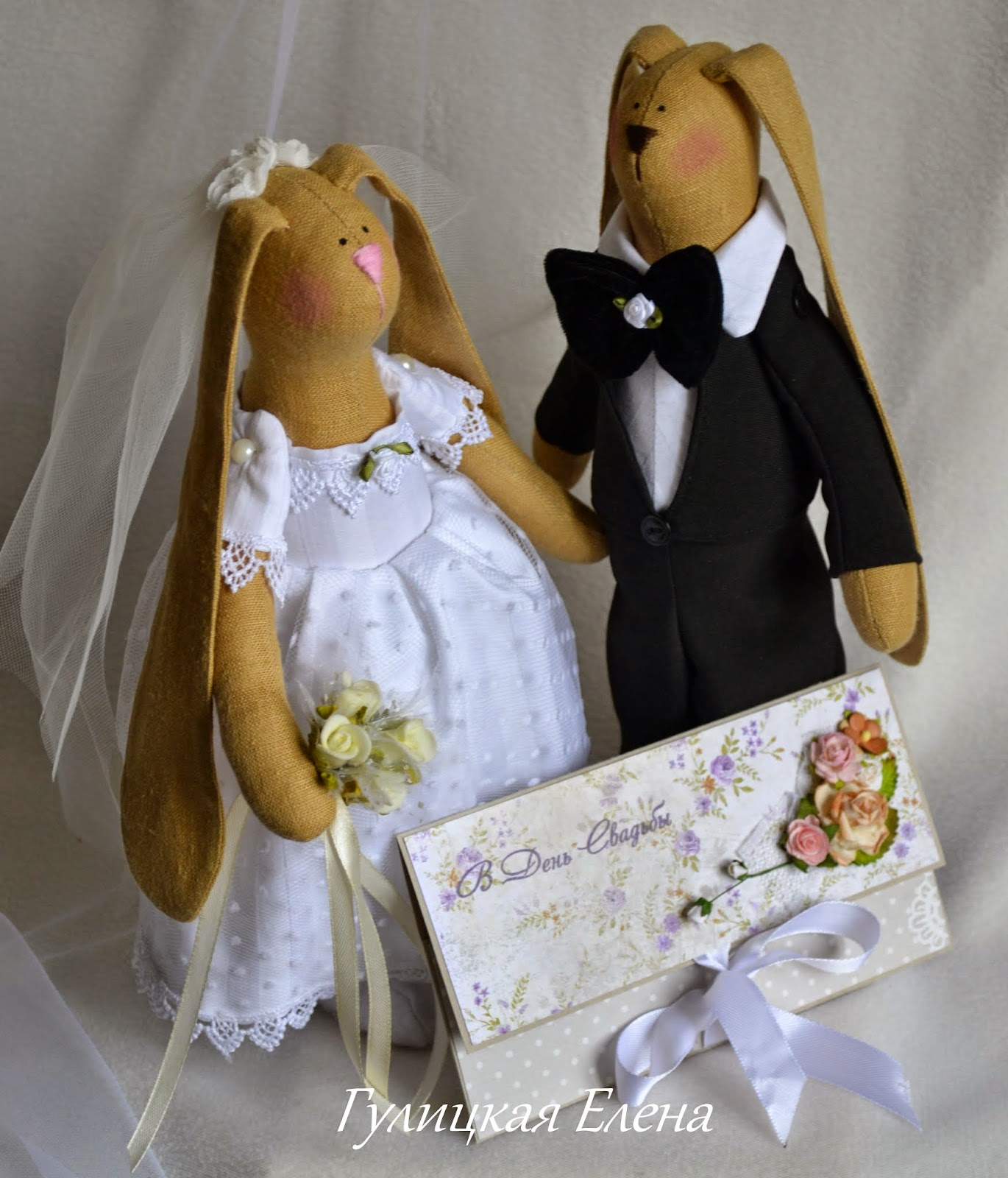 Свадебные зайчики своими руками сшить 85