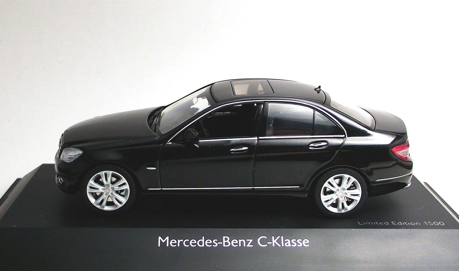 diecast 1 43 mercedes benz c klasse avantgarde limousine 1 43 schuco. Black Bedroom Furniture Sets. Home Design Ideas