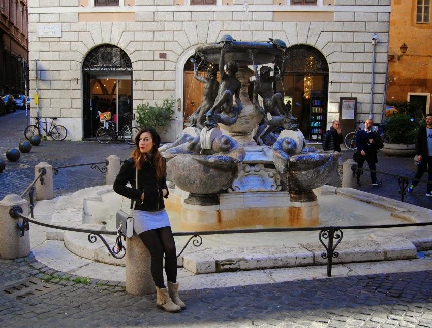 Roma Fontana Delle Tartarughe Fontana Delle Tartarughe
