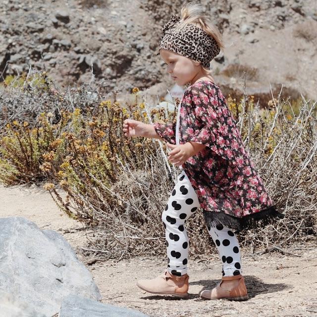 #trendalert #kimonos #modaniña #pequeñafashionista