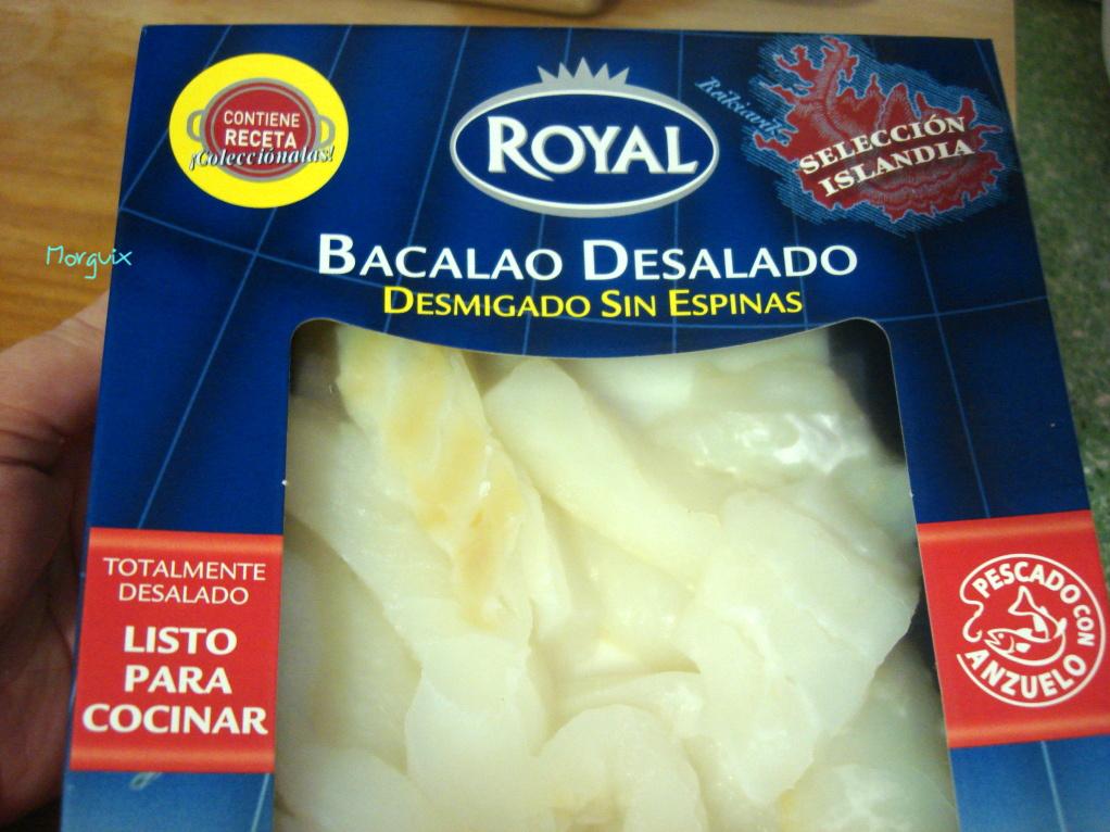 Bacalao dorado o braz - Cocinar bacalao desalado ...