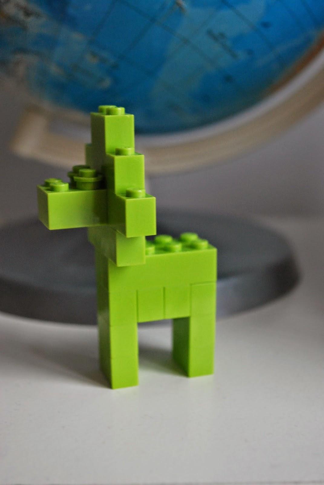 Zielony lew na Pryma Aprilis