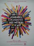 Journée Européenne des métiers d'art à Coucy le Château le 5 et 6 AVRIL 2014
