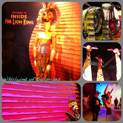 Disney Free Inside the Lion King Exhibit