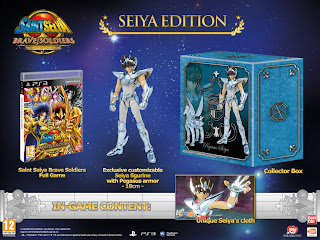 saint seiya brave soldiers limited edition europe Europe   Saint Seiya: Brave Soldiers (PS3)   Limited Edition Image & Contents