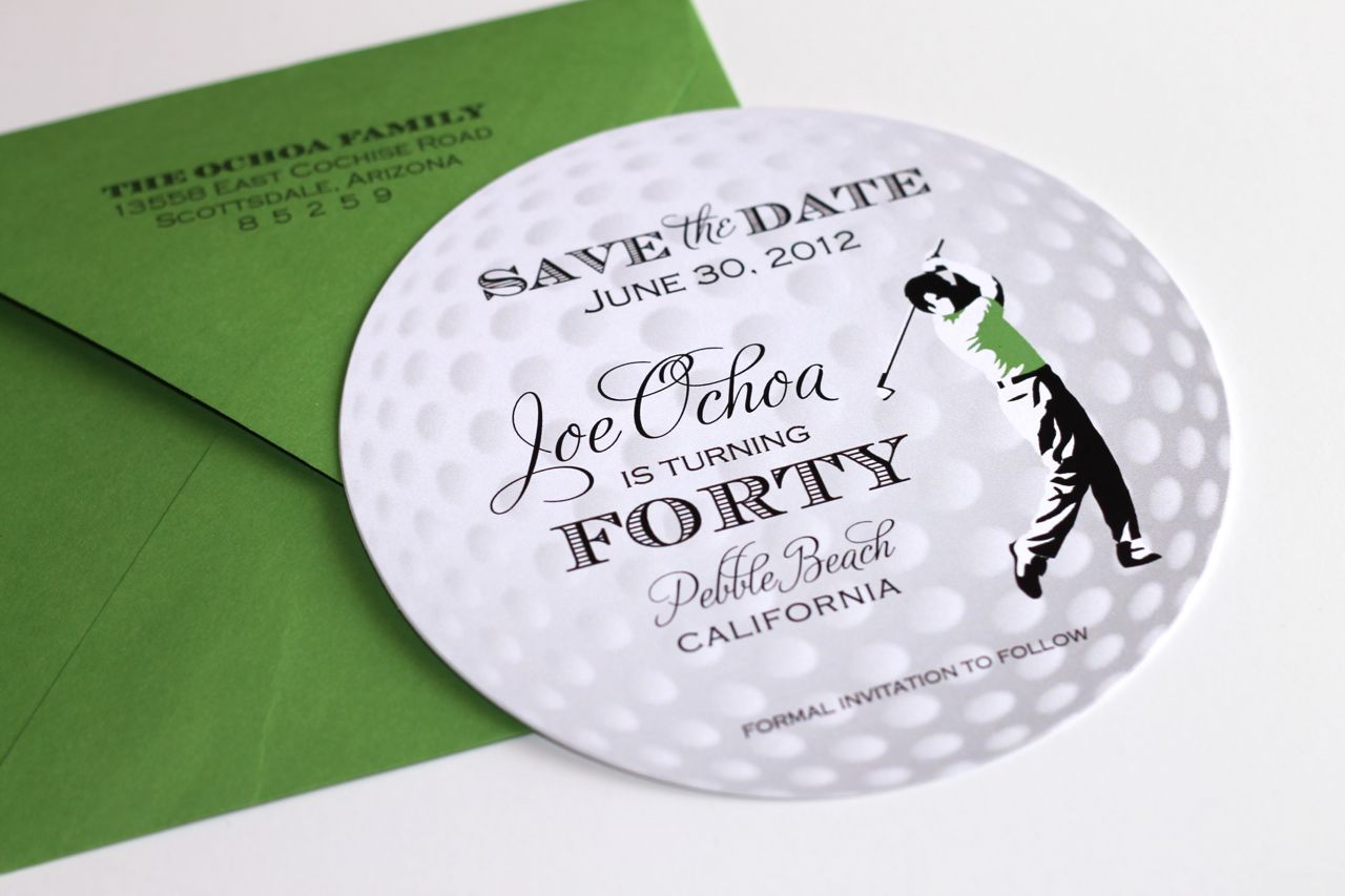 Golf Themed Birthday Party As Well Enjoy Tiffany