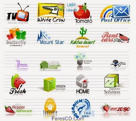 أخف وأسهل البرامج لصناعة اللوجوهات والشعارات الإحترافية AAA Logo 2014 v4.10 Portable نسخة محمولة للتحميل برابط مباشر