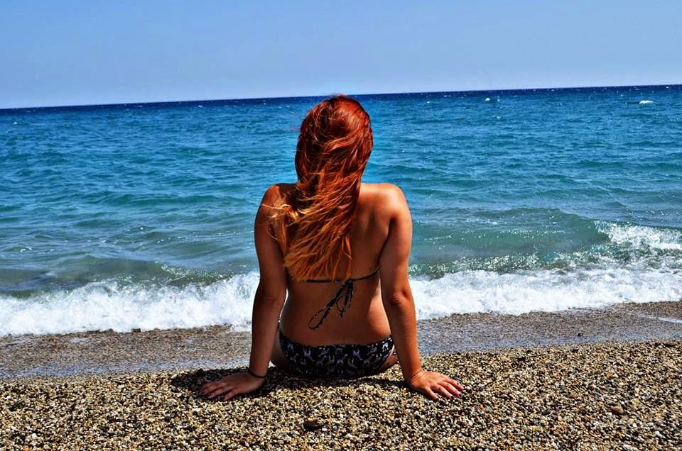Caulonia, Calabria, Italy. Ombre Hair