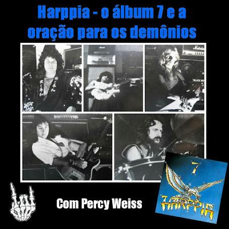 """Álbum """"7"""" do Harppia e a oração para os demônios"""