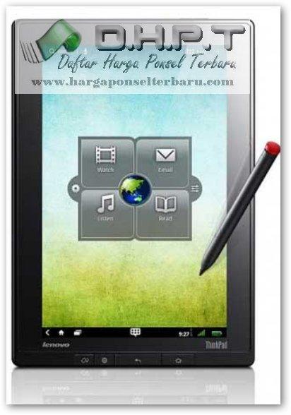 Tablet Pc Lenovo ThinkPad Spesifikasi Detail da Harga Baru Bekas
