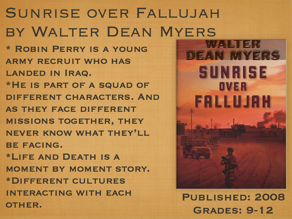 sunrise over fallujah Theme 2 we turned in our weapons to supply and then there was a coming together and saying of good-bye it wasn't complete, wasn't over in any real sense.