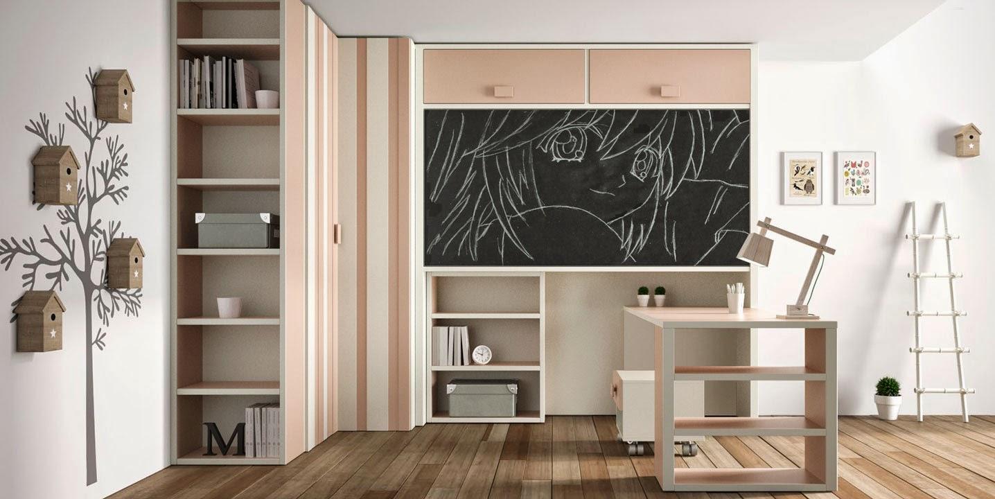 Dormitorios infantiles y juveniles para ni as ni os y - Habitacion nina 2 anos ...