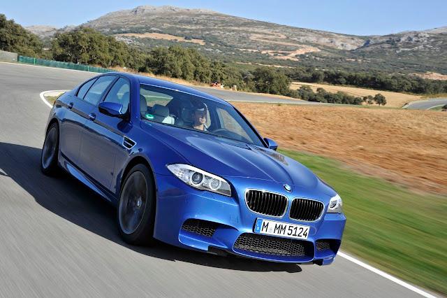 La nuova BMW M5 F10 (2012)